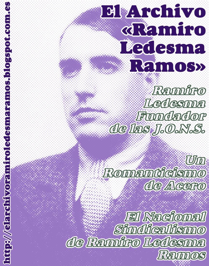 TEXTOS SOBRE RAMIRO LEDESMA RAMOS