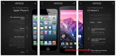Aplikasi Versus Android
