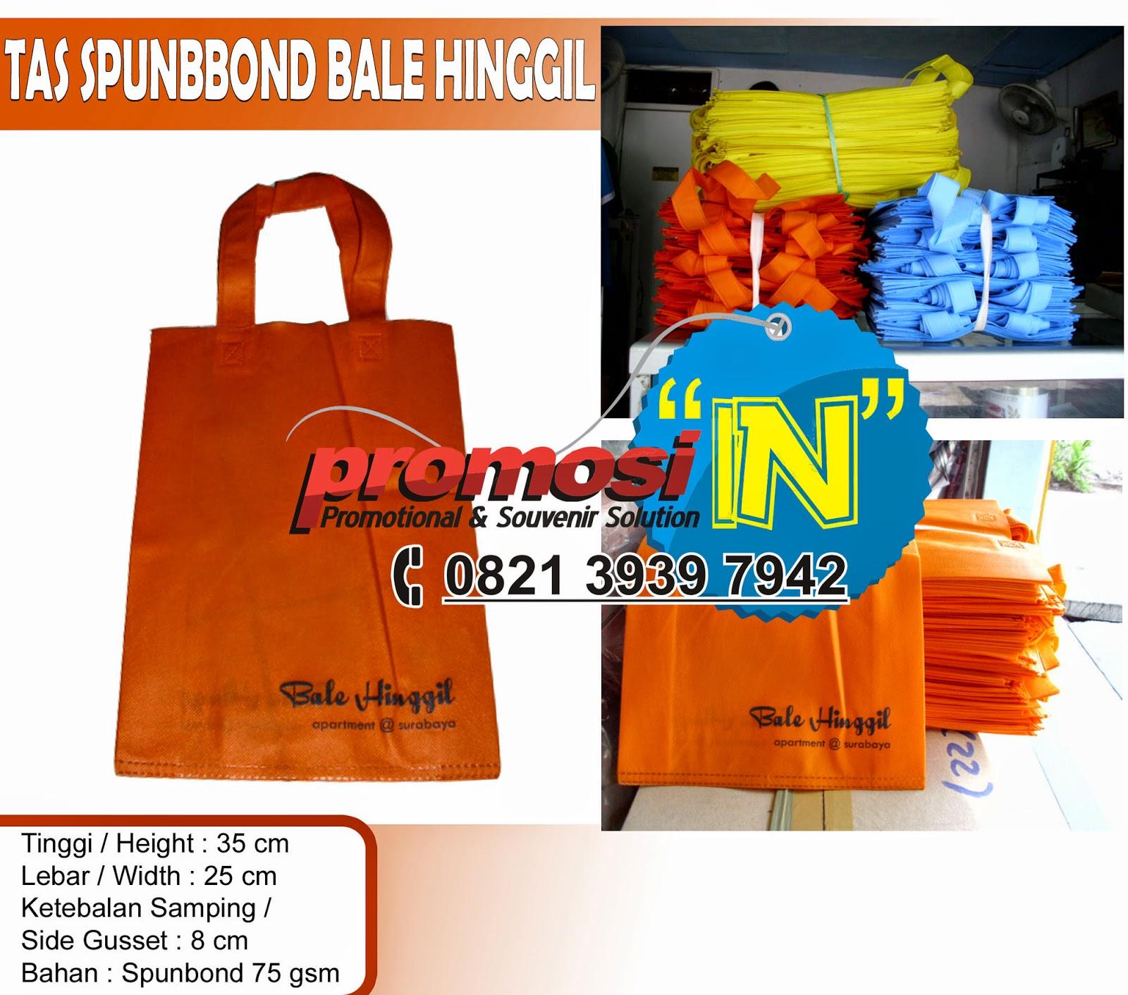 Tas Spunbond, Produksi Tas Spunbond Surabaya, Tas Spunbond Promosi Online,