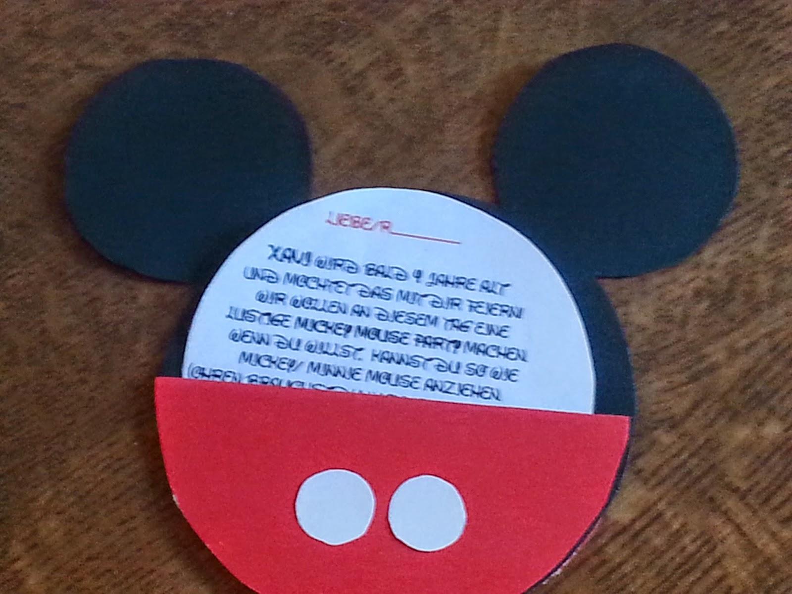 Diymojapasja 4 Te Urodziny Z Myszką Miki
