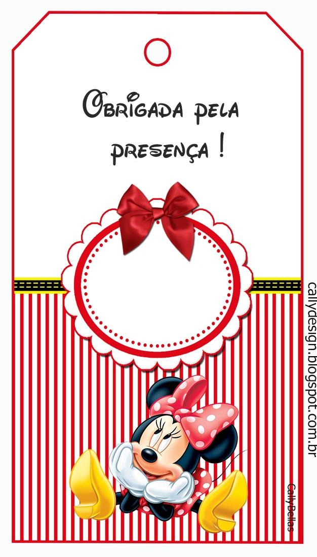 Kit de personalizados tema minnie vermelha cally s design kits