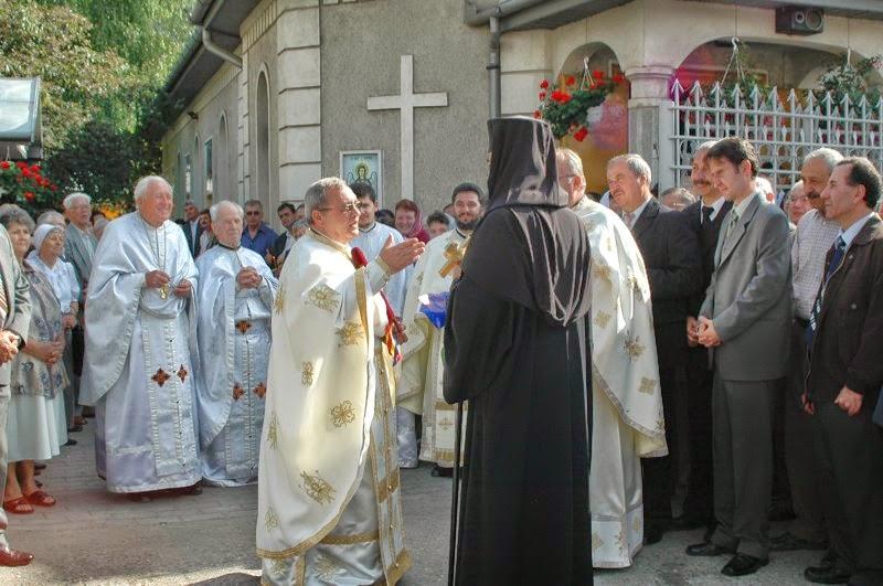 La sfintirea Altarului de vara