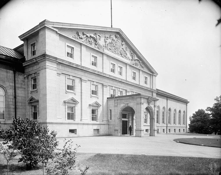 Rideau Hall Ottawa Ontario September 1918