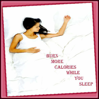Burn calories sleeping