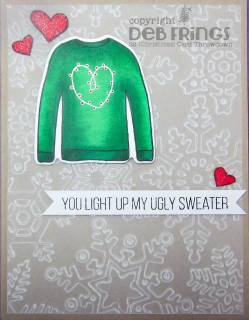 Ugly Sweater - photo by Deborah Frings - Deborah's Gems