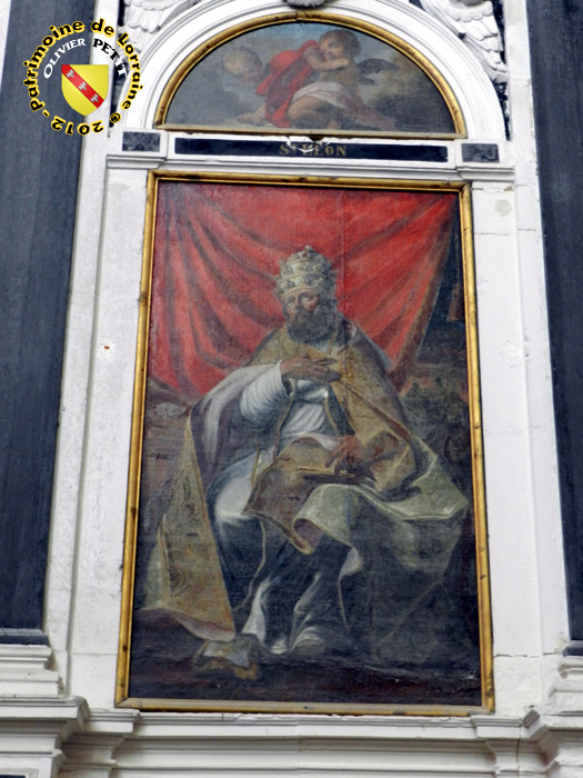 Den hellige Ammon, fra apsis i katedralen i Toul