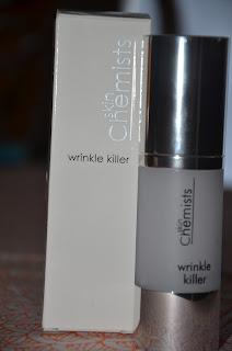 Wrinkle Killer bottle
