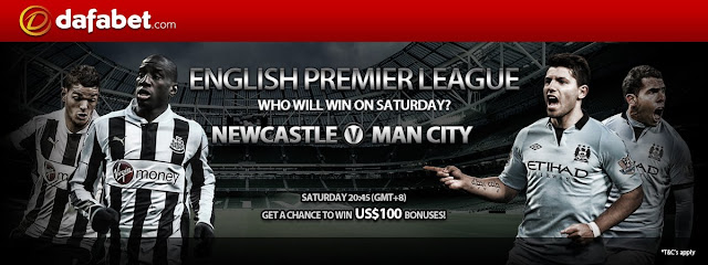 Newest promo of this yuletide season 2012 - EPL: Newcastle v Man City