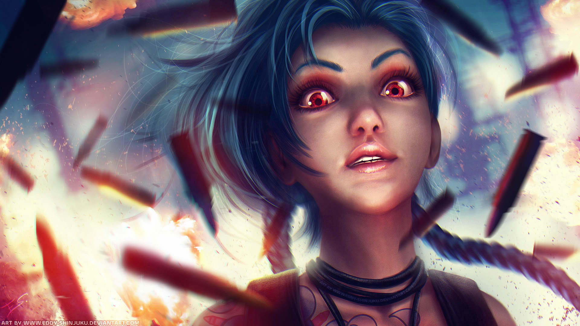 Jinx Wallpapers jinx league of legends hd wallpaper lol girl champion x w