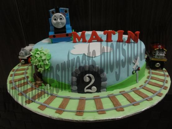 Sweetest things in life Thomas and friends 1 tier cake