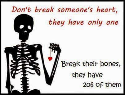 break the bone