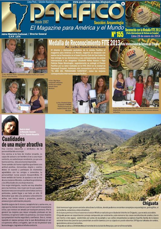 Revista Pacífico Nº 155 Arqueología