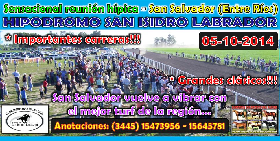 SAN SALVADOR - 05.10.2014