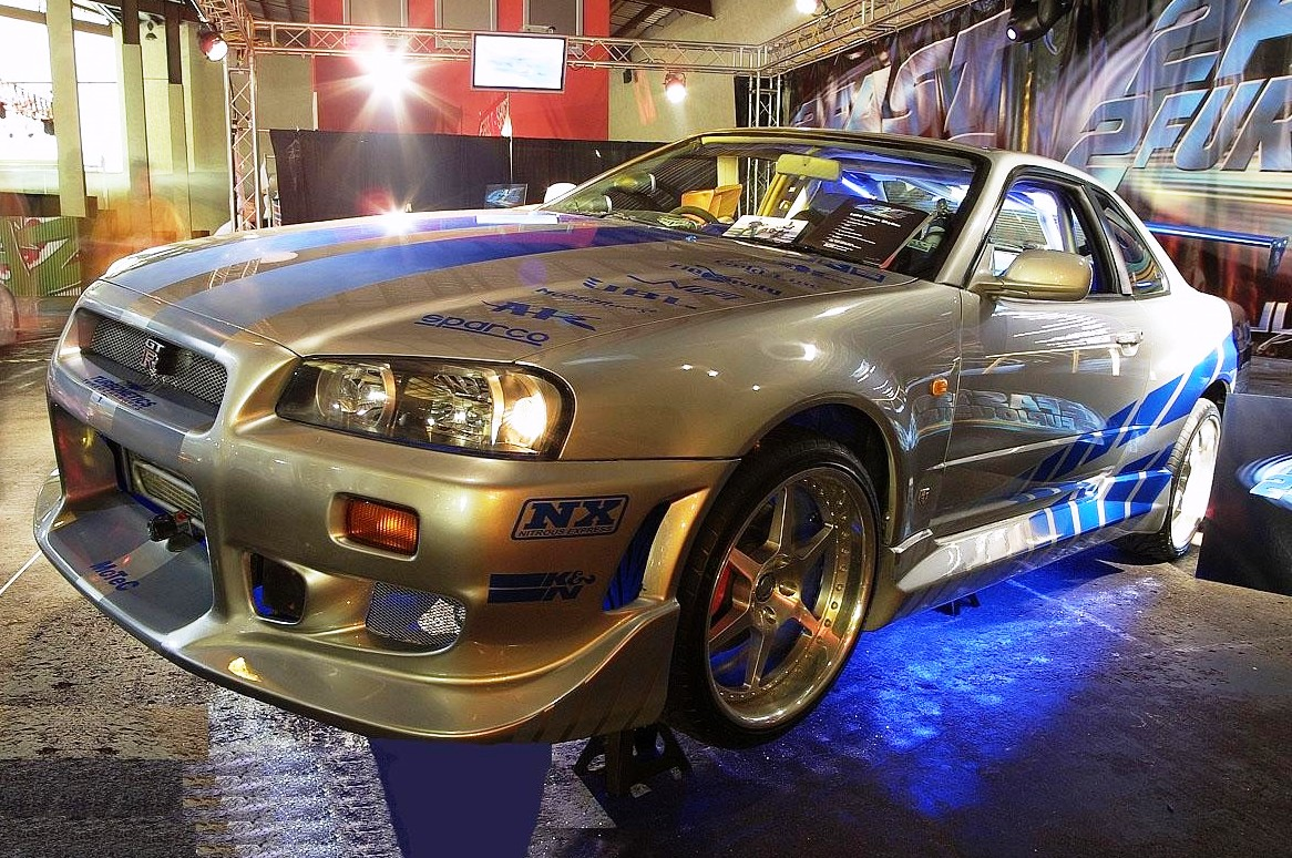 brian o conner s nissan skyline r34 gt r 2 fast 2 furious - Fast And Furious Cars Skyline