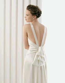 Vestidos de Novia con Escote en la Espalda, parte 2