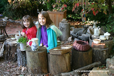 Logs for Play Area 