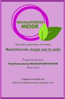 Programa electoral Navalafuente Mejor