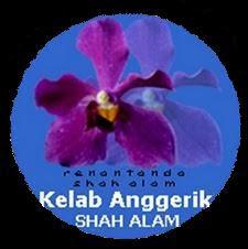 Logo Kelab Anggerik Shah Alam