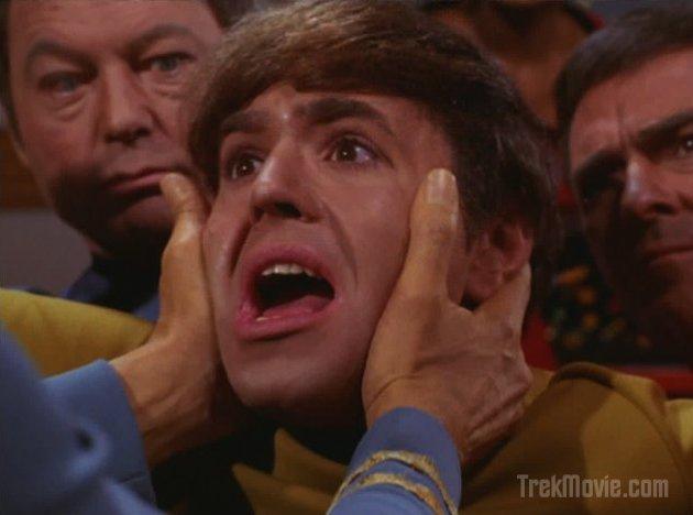 Chekov Star Trek. Get a hold of yourself Chekov,