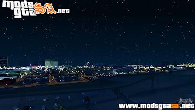 SA - Skybox Estrelas e Nuvens Realistas v2