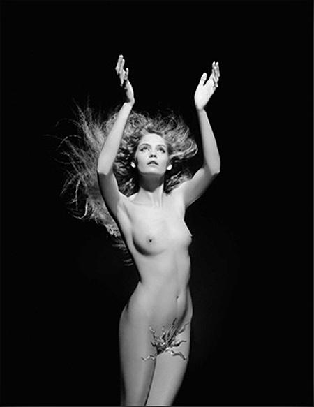 Desnudo negro fmous modelos