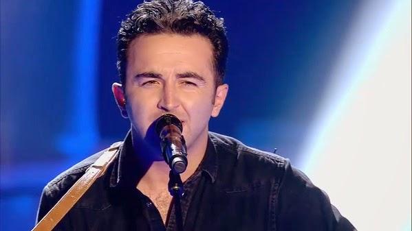 Néstor canta Everybody's Talkin'-La Voz 3. Audiciones a ciegas Gala 5