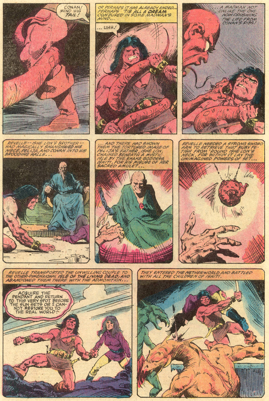Conan the Barbarian (1970) Issue #139 #151 - English 3