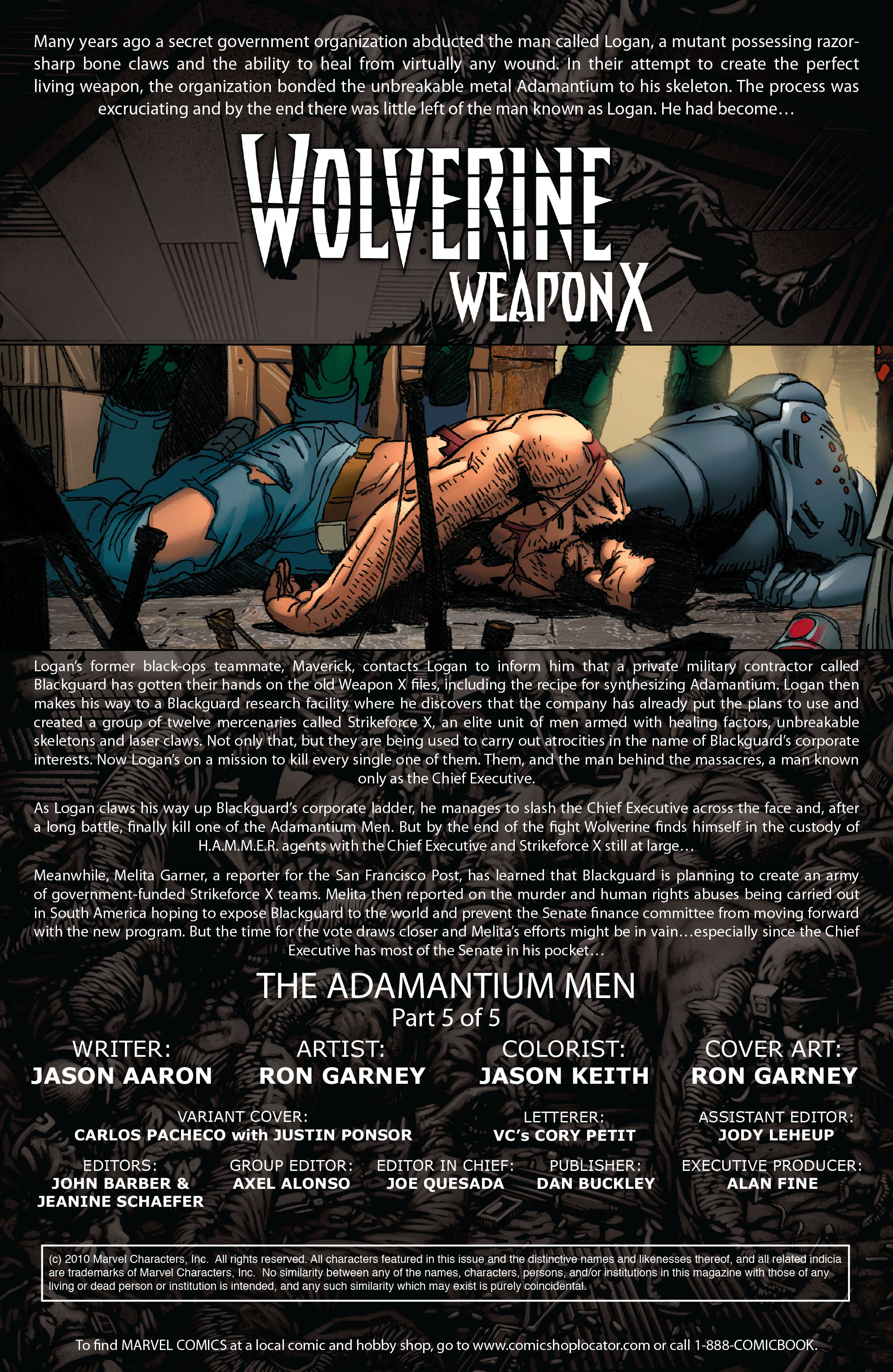 Wolverine: Weapon X #5 #12 - English 2