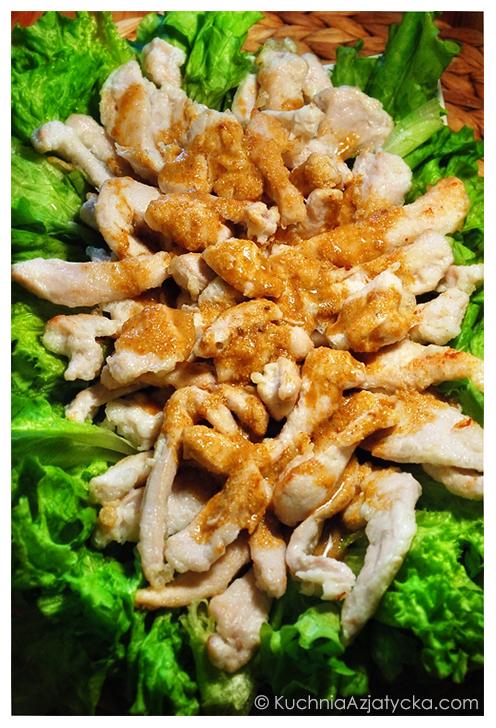 Kurczak w sosie gorczycowym © KuchniaAzjatycka.com