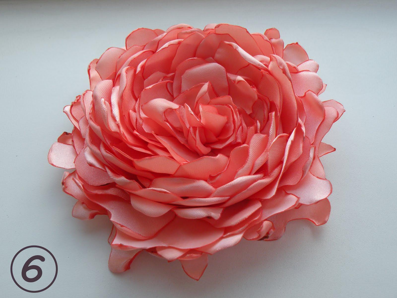 Сделать цветок из ткани к свадьбе