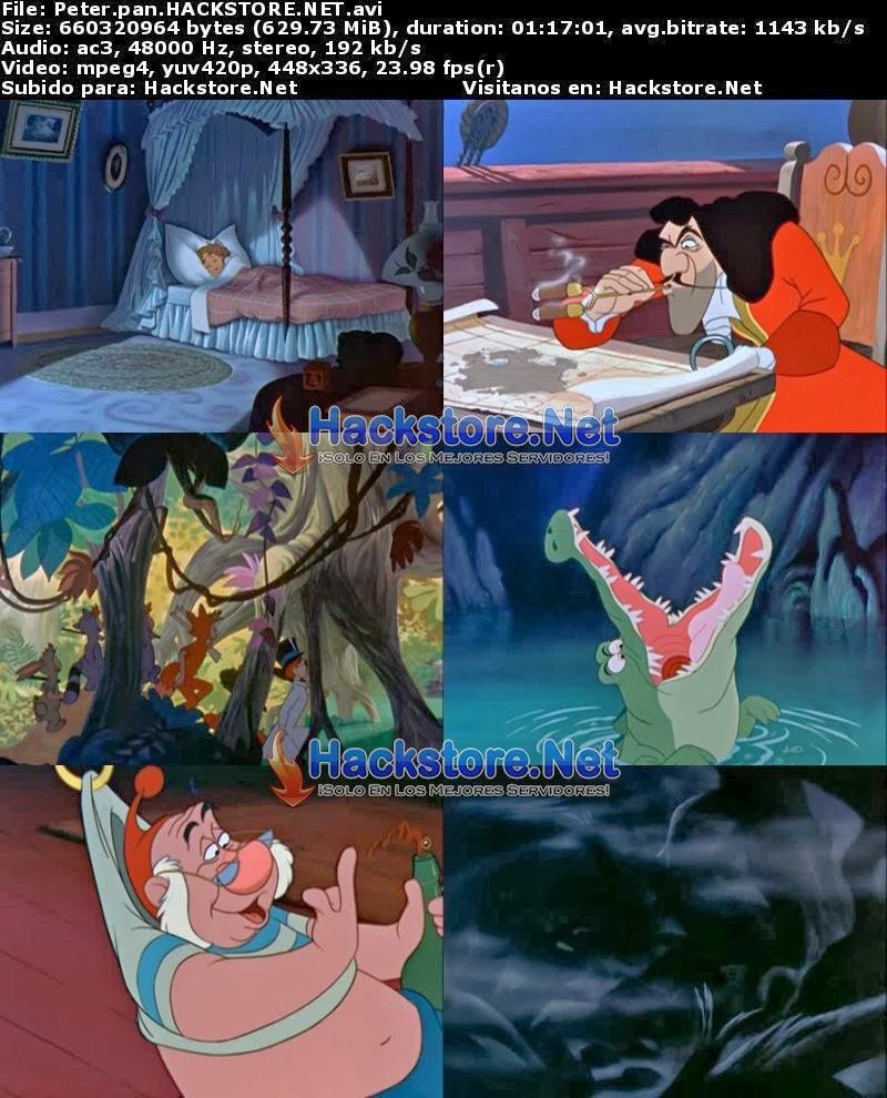 Captura Peter Pan 1 (1953) DVDRip Latino