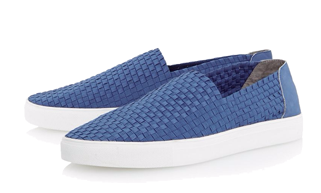 Dune-Turbo-Blue-Slip-On-Trainer