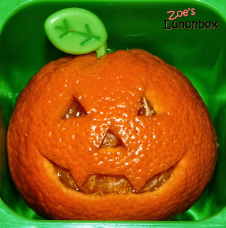 Carved Pumpkin Orange