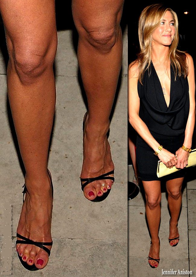 Jennifer Aniston Feet Education Apps