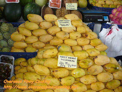 Mangoes from Guimaras