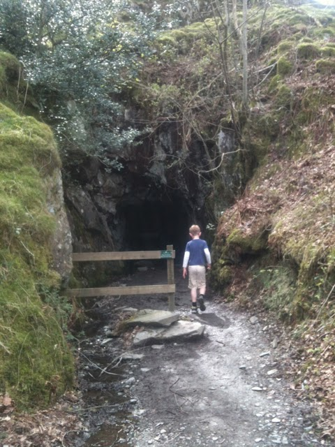 Entrance to Cathedral Quarry