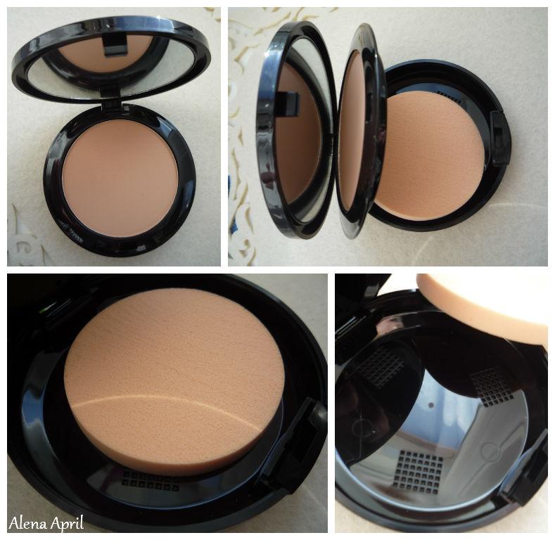 Compact powder 2-in-1 Skin Perfection Lamel Professional, компактная пудра 2-в-1 безупречная кожа, оттенок 203