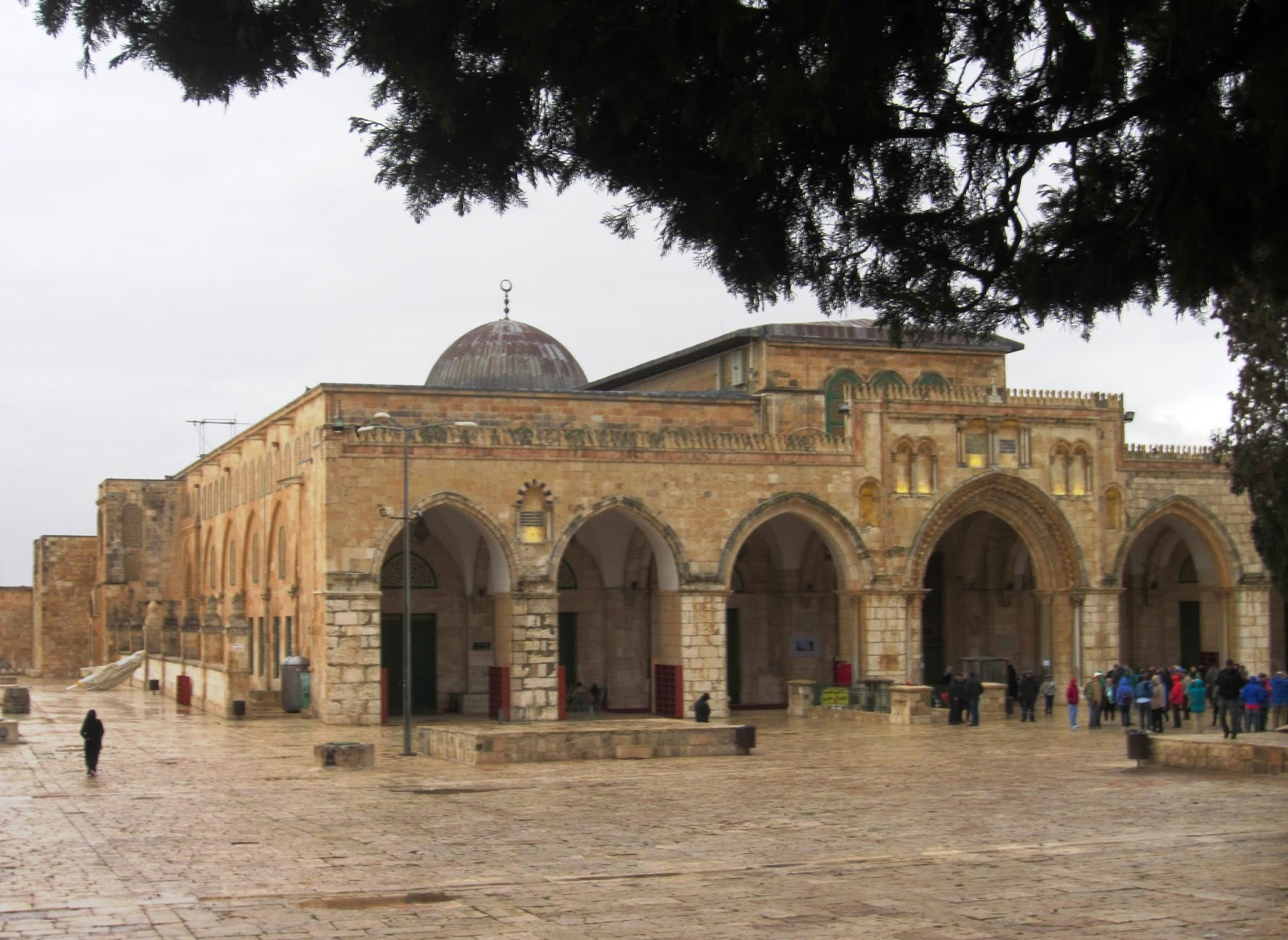 Al Aqsa Mosque, Temple Mount, Jerusalem / Souvenir Chronicles