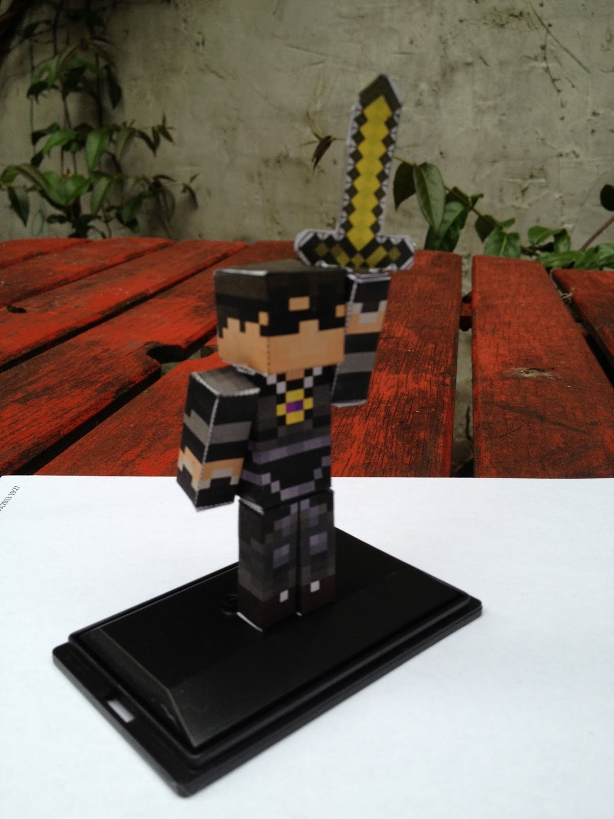 Make Your Minecraft Character Out Of Paper