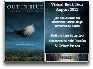 Out In Blue Virtual Book Tour: Character Interview with Sarah Gilman