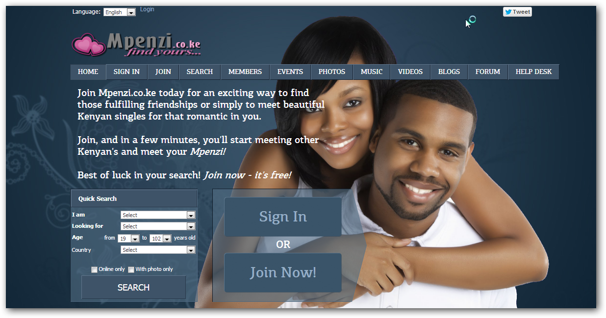 Dating sites in kenya