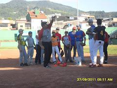 Secciòn de practica estadiun tachira San Cristòbal