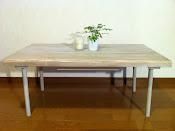 ローテーブル(脚収納タイプ)