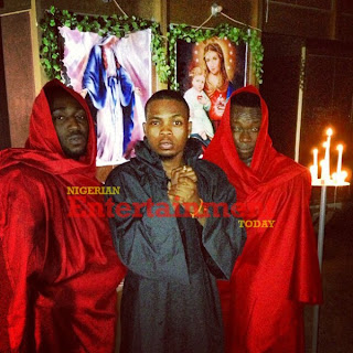 PHOTOS: Olamide Fronts 'Jesus' In New Video Shoot
