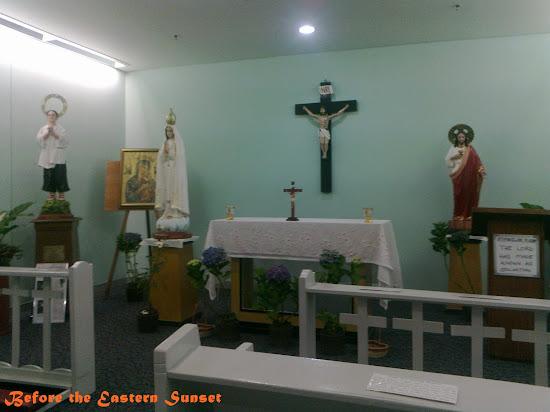 NAIA Terminal 3 chapel