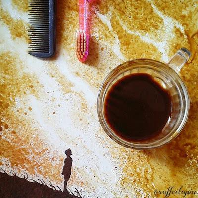Ghidaq al-Nizar coffee artwork