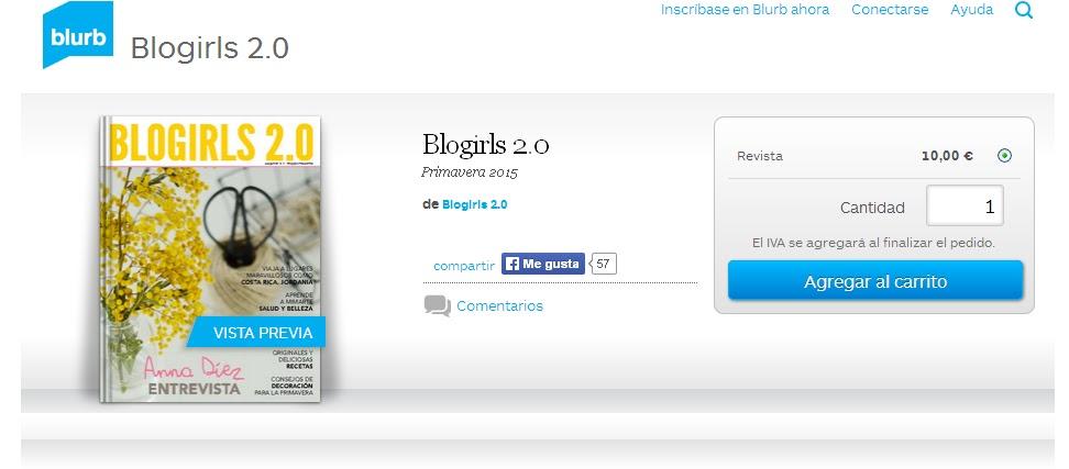 'Blogirls 2.0 Magazine'