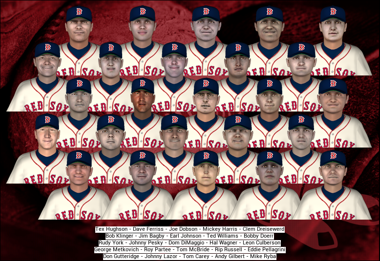 1946 Red Sox Simulation