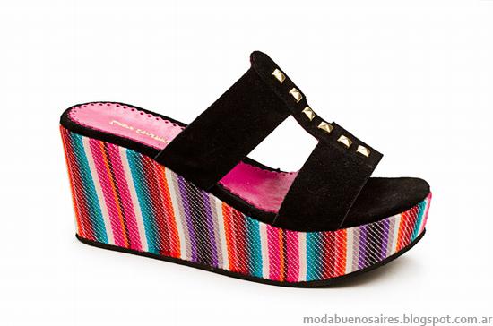 Sandalias y zapatos verano 2014 Laura Constanza.
