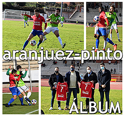 Real Aranjuez - At. Pinto: Fotos